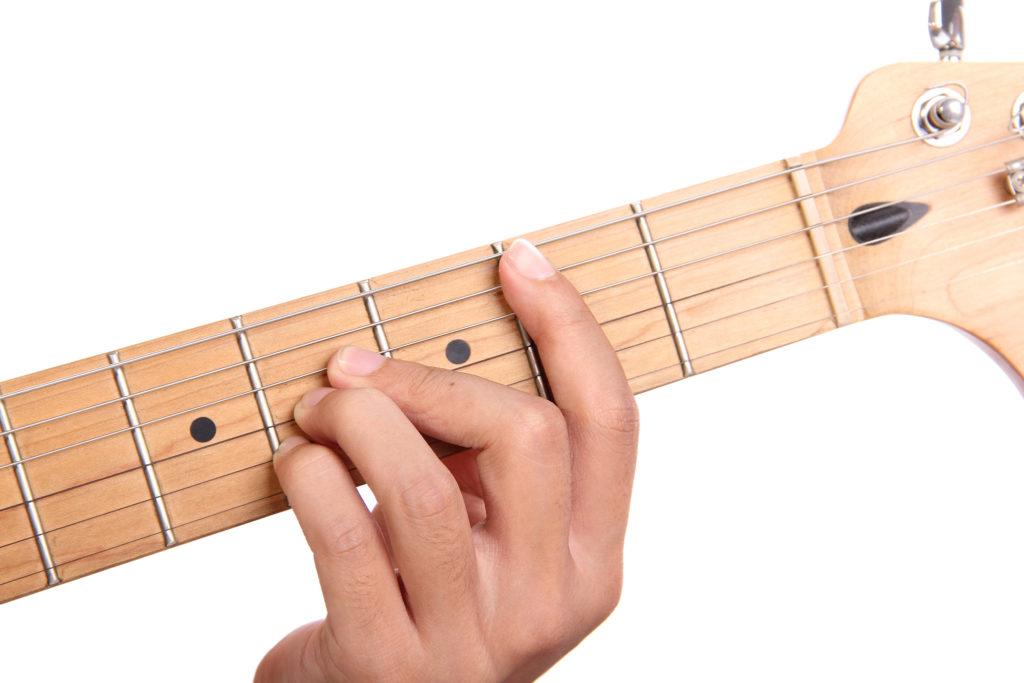 H-Dur auf Gitarre